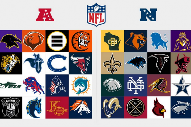 Best NFL Logos Ever